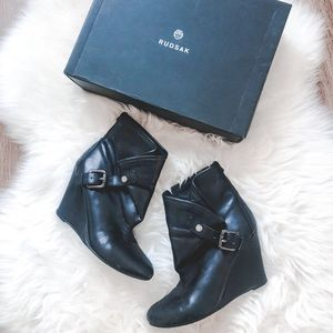 🖤RUDSAK LEATHER ANKLE BOOTS